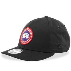 Canada Goose 'arctic Program' Baseball Cap In Black New Era Logo, New Era Cap, Canada Goose Mens, Canada Goose Jackets, Strapback Cap, Winter Sun, Arctic, Baseball Cap, Street Style