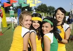 On the set of the Disney Channel's Friends for Change Games.