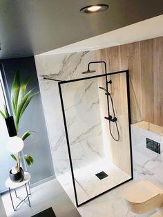Svanesjø Nelly - Walk in dusj sort matt – Nygaard Bad Bathroom Inspo, Sorting, Master Bath, Mirror, Interior, Bathrooms, Furniture, Home Decor, Bathroom Modern