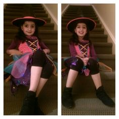 Dress up as a witch