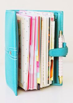 little red moose: walk through | filofax teal finchley