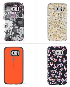 Thanks to these fun case options, you won't be stumped when the new Samsung Galaxy S6 and S6 Edge phones hit shelves on April 10.