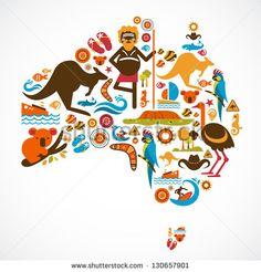 Australia Stock Vectors & Vector Clip Art | Shutterstock