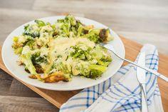 schnell zubereitet Low Carb Brokkoli Pfanne mit Ei und Käse. Perfekt auch für die anabole/ ketogenen Diät.