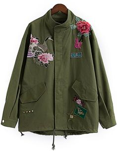 Embroidered A-Line Jacket  I also buy this and too excited to have it!!!1 X_X