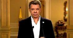 osCurve   Contactos : Texto del discurso de Santos sobre el proceso de p...