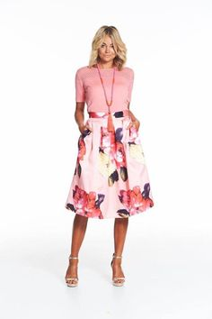 Augustine Peach Perfect Skirt