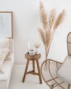 Home Interior Grey 6 Fabulous ways to style reed in your autumn themed home - Daily Dream Decor.Home Interior Grey 6 Fabulous ways to style reed in your autumn themed home - Daily Dream Decor Living Room Decor, Bedroom Decor, Dining Room, Grass Decor, Style Deco, Dream Decor, My New Room, Minimalist Home, Home Decor Inspiration