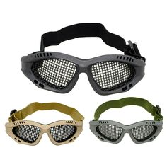 tactical goggles, shooting goggles, airsoft goggles, Metal Steel goggles-Product Center-Sunnysoutdoor Co., LTD-