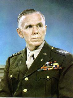 George C. Marshall ***** Chief of Staff/ United States Army