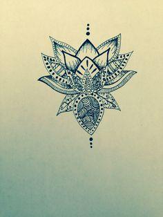 Lotus Flower for Drawing. Lotus Flower for Drawing. Lotus Flower Line Art Ink Pen Drawing original Style Stock Flower Drawing Tumblr, Lotus Drawing, Flower Tattoo Drawings, Ink Pen Drawings, Drawing Pin, Mandala Drawing, Lotus Tattoo, Mandala Tattoo, Namaste
