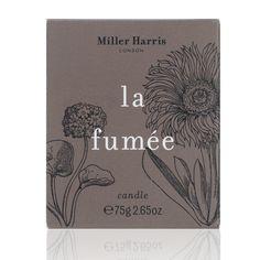 Miller Harris La Fumee Candle 75g - feelunique.com