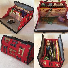 Quilters Organizer Bag (in red)