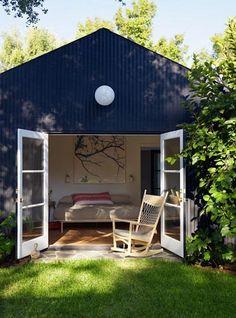 a studio backhouse