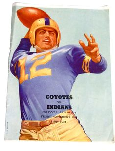 Vintage Football Program Coca Cola Texas 1950s Ephemera on Etsy, $9.00