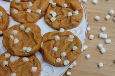 Peanut Butter Marshmallow Cookies!
