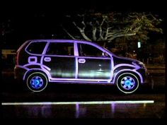 Projection Mapping on Car