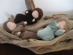 Beautiful Dolls Root children for the Nature Table, Waldorf inspired