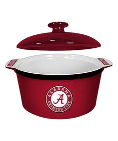 Loving this Alabama Crimson Tide Game Time Dutch Oven on #zulily! #zulilyfinds