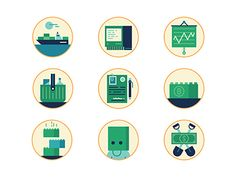 Bitcoin icons by MUTI