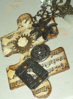 Christi's Creations: Altered Puzzle Pieces