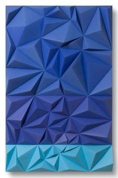 """""""Azul y Cyan"""" Autor: Daniel Martinez"""