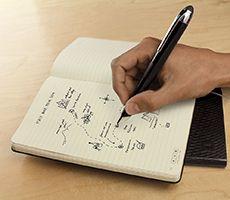 Nova linha Moleskine converte notas escritas à mão em texto digitalizado   Ao Quadrado