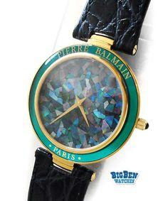 Pierre Balmain precious opal quartz watch #UveStyle