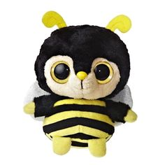 YooHoo and Friends Bumblee the 5 Inch Plush Bumblebee by Aurora 83e34e1d4640