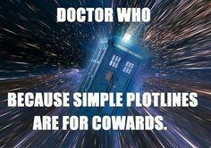 plotline,wibbly wobbly timey wimey,tardis,doctor who