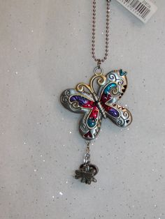 colorful butterfly mirror hanger our store link is http://stores.ebay.com/store4angels?refid=store