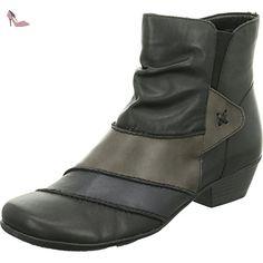 Remonte D7393 femmes noir cuir Bottine, EU 41 - Chaussures remonte (*Partner-Link)