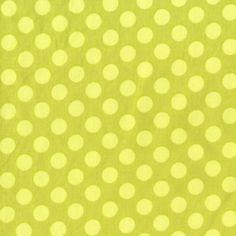 Michael Miller House Designer - Dots - Ta Dot in Apple