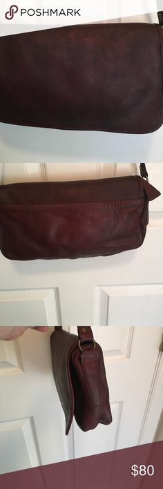 Frye vintage burgundy leather bag Frye vintage leather burgundy bag. Soft leather. Gets better with age. Frye Bags Shoulder Bags