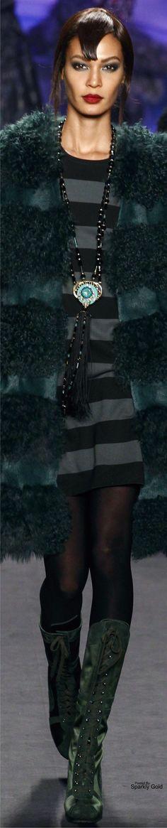 Anna Sui Fall 2014 RTW