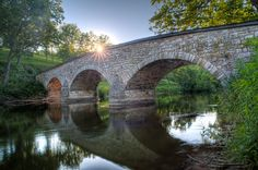 Burnside Bridge in Antietam Battlefield