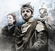 Catelyn Stark, Renly Baratheon & Brienne of Tarth