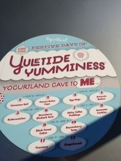 Yogurtland Yuletide Yumminess 2012
