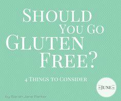 Should You Go Gluten Free? - FitBetty.com