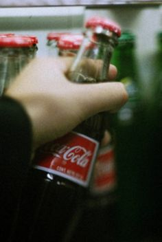 """How about coke in a glass bottle."" He asked. ""Never had it,"" I replied. ""You're joking! You haven't truly lived until you've had coke in a glass bottle, it's the only way to experience it."" He said. He grabbed two glass bottles out of the refrigerator. ""Come on...let's give you an experience."""