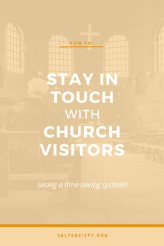 Send Your First Time Church Visitor a Followup Letter The church