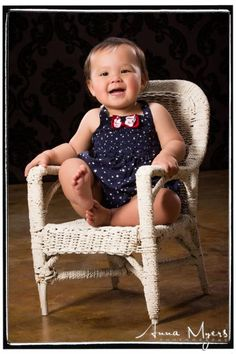 #cute baby portraits with wicker chair prop in Alameda based studio #babyportraits #babyphotography #bayareaphotographer