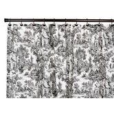 THIS COMES IN BLUE    Found it at Wayfair - Victoria Park Cotton Toile Shower Curtain
