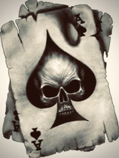 skull tattoo, Skull Tattoo Ideas Informations About skull tattoo, Skull Tattoo Ideas Pin You can eas Evil Skull Tattoo, Skull Tattoos, Hand Tattoos, Sleeve Tattoos, Lion Tattoo, Tatoos, Ace Of Spades Tattoo, Card Tattoo Designs, Skull Tattoo Design