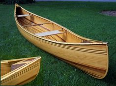 what a beauty! wooden canoes and boats float my boat:)