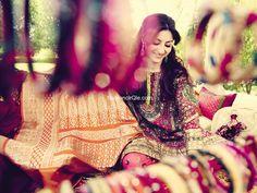 "Soha Ali Khan for Verve India. ""The Royal Indian Bride"" - love the chudiyaan/interesting prop for shoots."