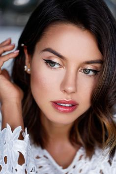 PERFECT everyday face! - FAVORITE MAKE UP LOOK: BRONZED SKIN & CORAL LIPS | VivaLuxury | Bloglovin'