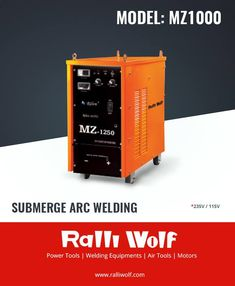 This Submerge Arc Welding machine is Multi-Functional: SAW, MMA, and Carbon Gouging. Auto protection against over Voltage and over Current and lightweight and easy to transport.