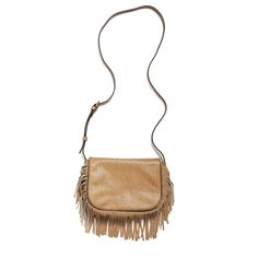 Wear this statement piece with boyfriend jeans and a white tank or with a flowy printed dress. Stylist Tip: Tie a knot in the strap to make it shorter - great for petites! (Pasadena Fringe Crossbody Bag by Stitch Fix)