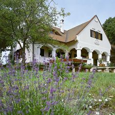 Ilyen kell nekem is! Life Is Beautiful, Beautiful Homes, Country Home Exteriors, Love Home, Cottage Homes, Traditional House, Hungary, Countryside, Sweet Home